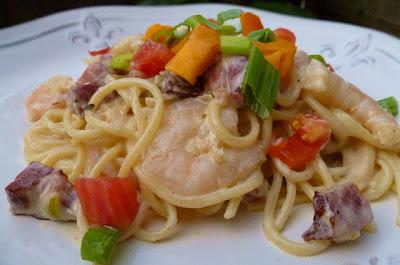 Shrimp & Tasso Pasta