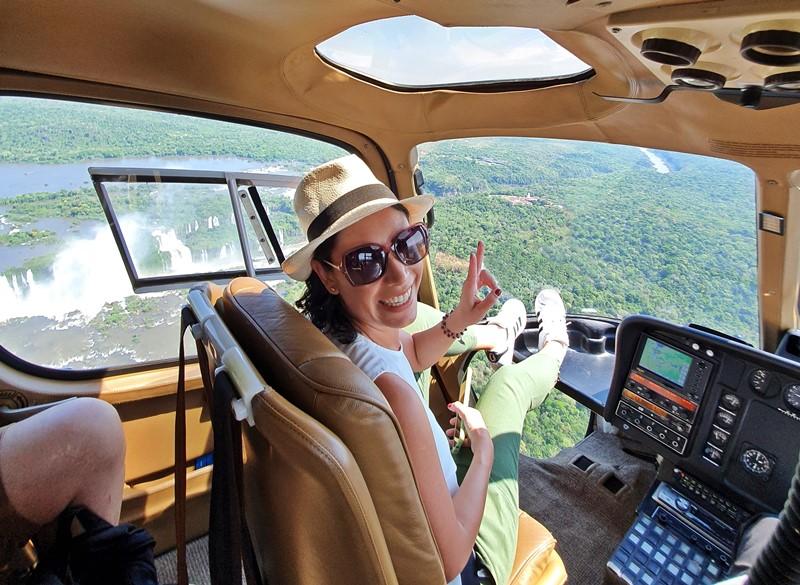 Passeio de Helicóptero Cataratas do Iguaçu