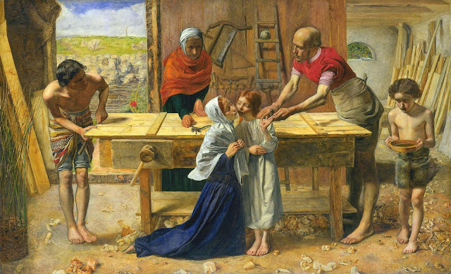 Christ in the House of His Parents, 1850 by John Everett Millais