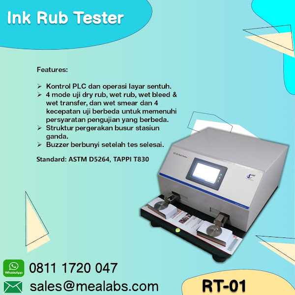 RT-01 Ink Rub Tester