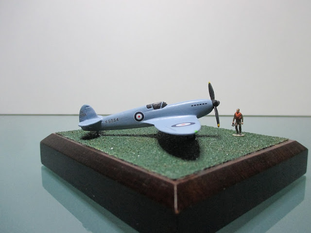 1/144 Supermarine Spitfire prototype diecast metal aircraft miniature