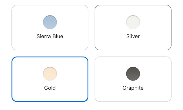 pilihan warna iphone 13 pro max