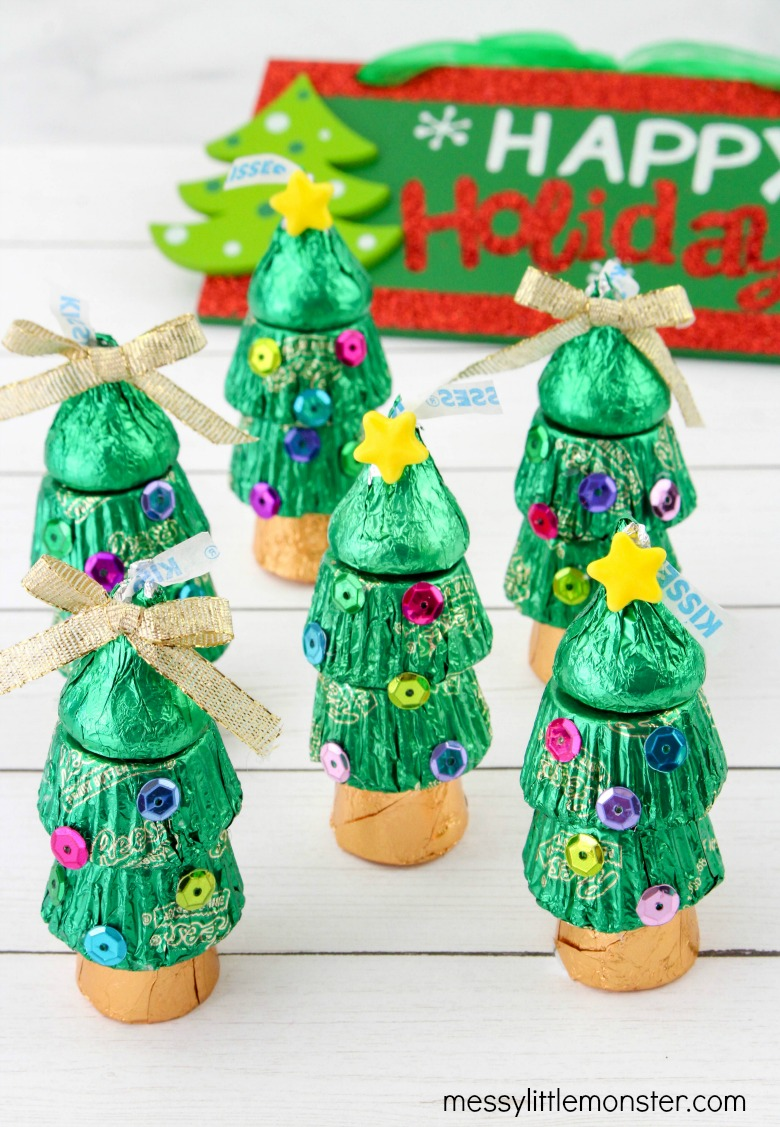 easy candy Christmas tree