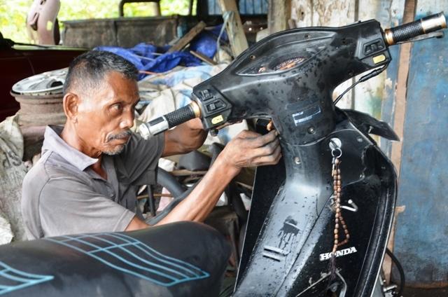 Sepeda Motor Honda Sang Penyelamat Nyawa