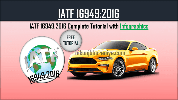 IATF 16949 Automotive Quality Management System
