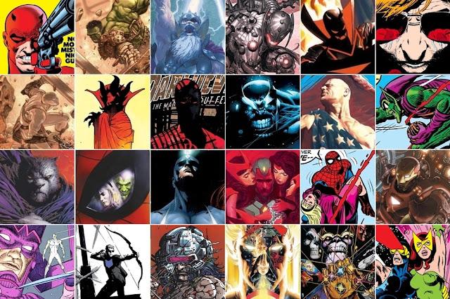 Imágenes de los mejores cómics de la historia de marvel