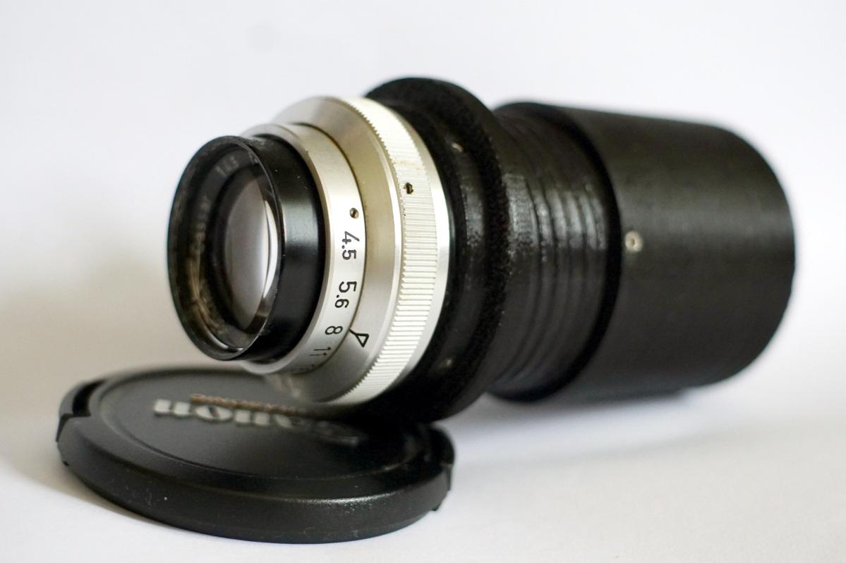 #180 Cassar f4.5 105mm - Beispielbilder an 3 verschiedenen Kameras