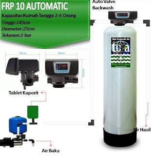 Filter Air Sistem Outomatic Backwash Untuk Rumah dan Industri