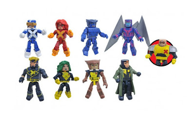 X-Factor Marvel Minimates Series 78 Mini Figures by Diamond Select Toys
