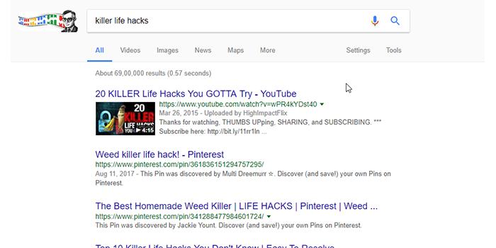 video keywords youtube