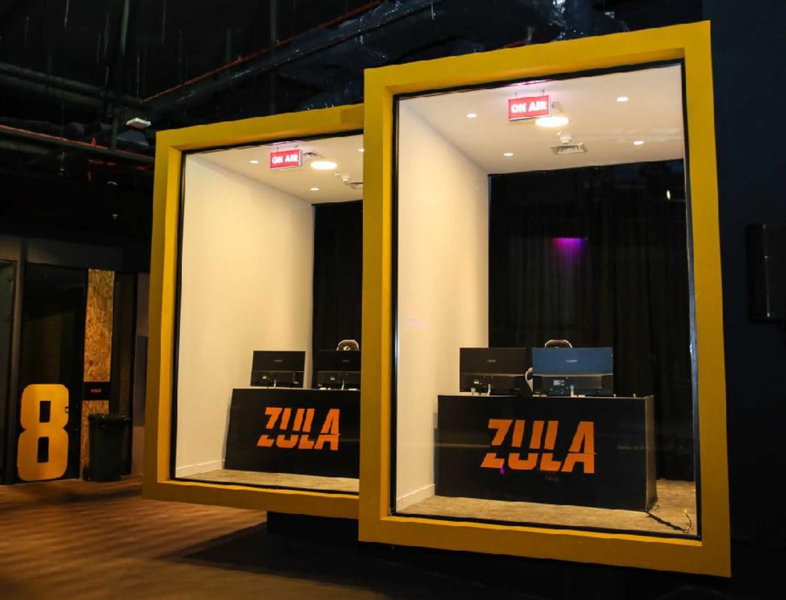 Zula Nonstop Espor Oyun Merkezi Yayın Odası