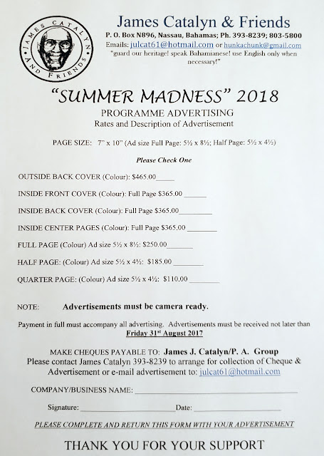 James Catalyn & Friends - Summer Madness 2018