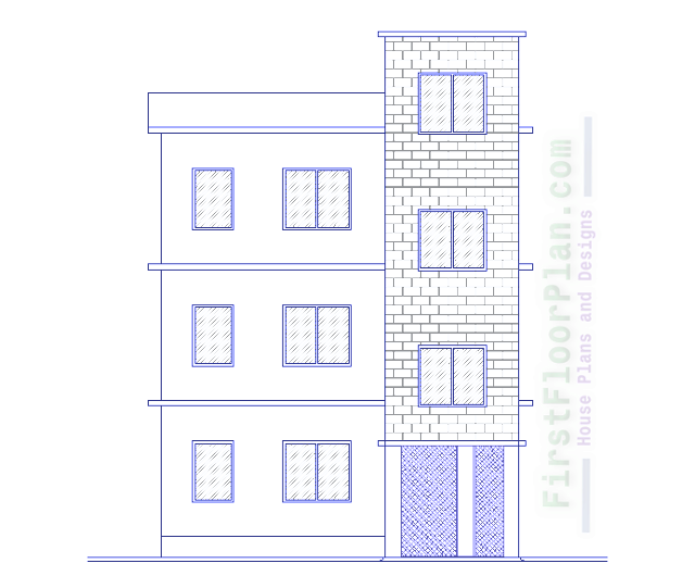 Building Front Elevation