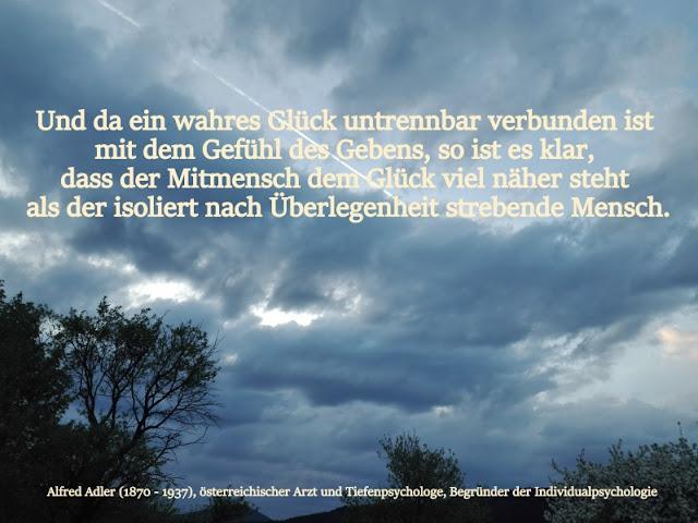 Zitat - Quote: Alfred Adler