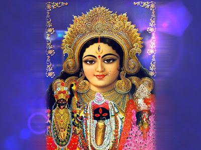 Hindu Goddess Maa Durga HD Wallpaper