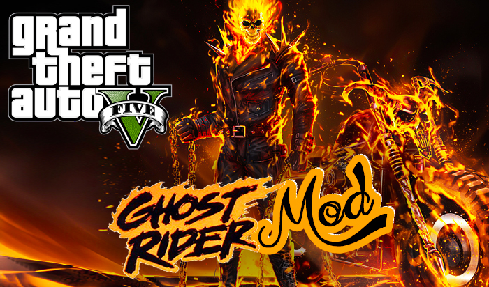 GTA V GhostRider Mod Download With Power's | GTA 5 Mod 2021