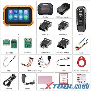 Package de la version complète OBDSTAR X300 DP Plus