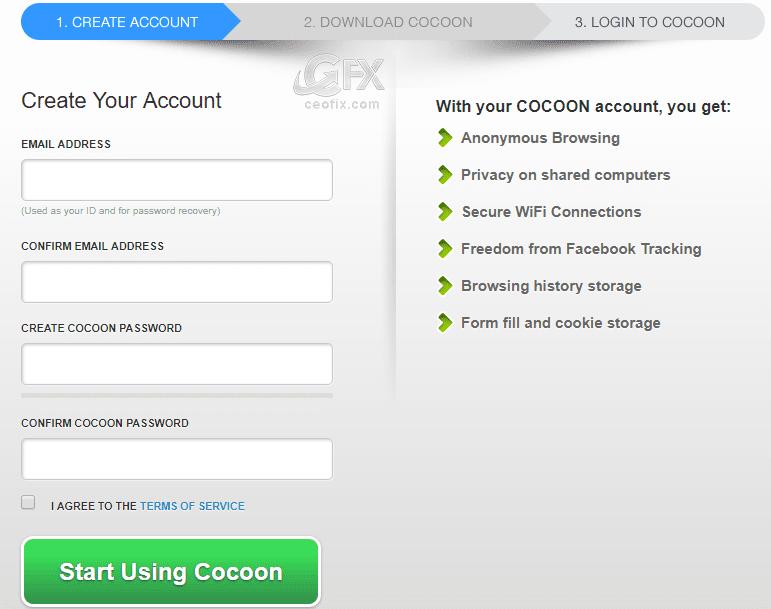 Cocoon Browser  - www.ceofix.com