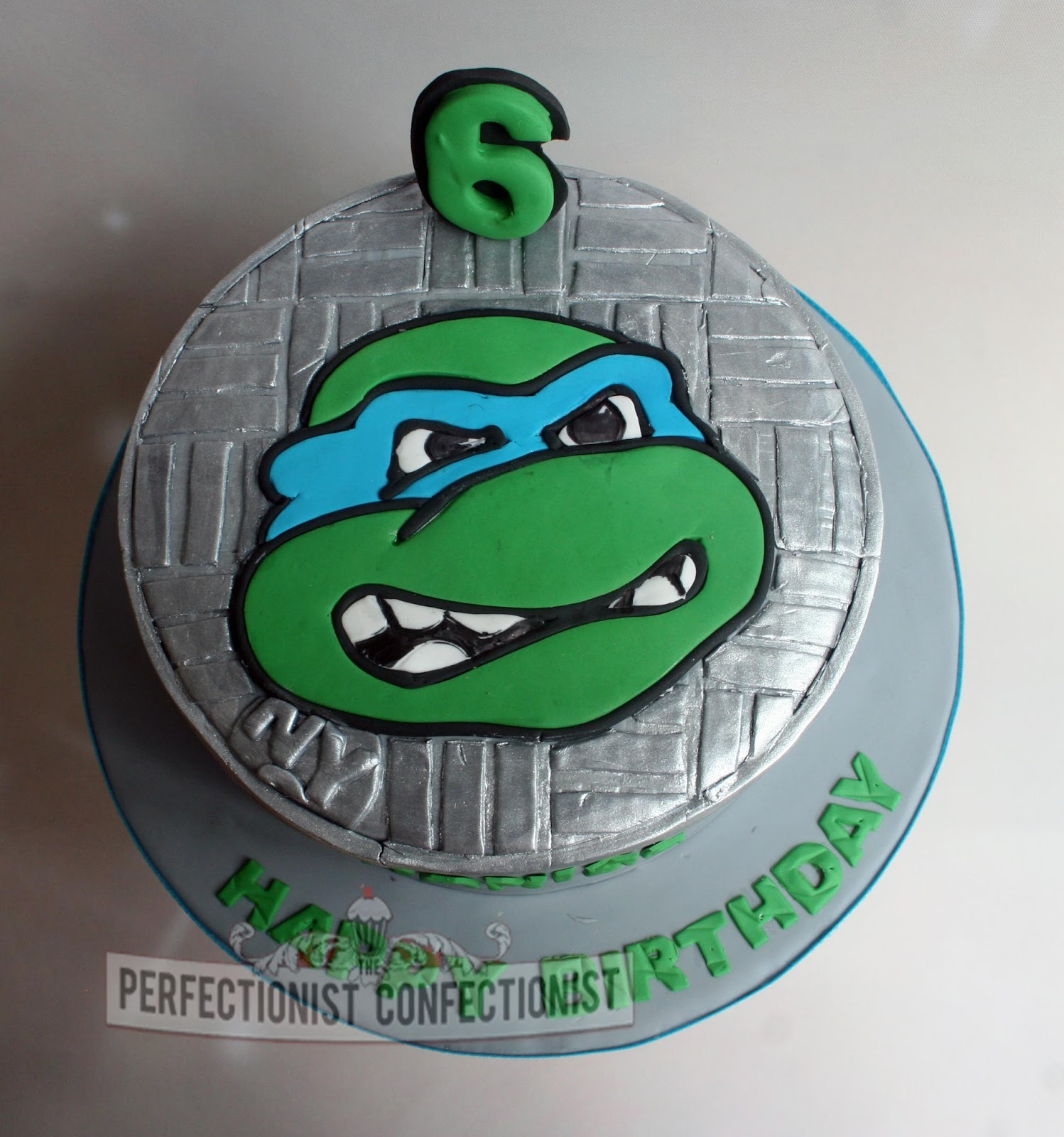 The Perfectionist Confectionist Daniel Ninja Turtle Cake