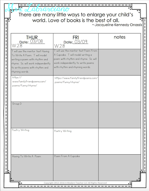 Click here to learn all about teaching ELA in the second  grade classroom.  These free and fun lesson outlines will detail curriculum and ideas for all informational, literature and writing standards in my 2nd grade elementary classroom.  This week's lessons will be all about: how words and phrases supply rhythm and in meaning in stories and poems.  Your second grade students will love the lessons and activities shared here.  These lesson outlines are added and updated almost each week.