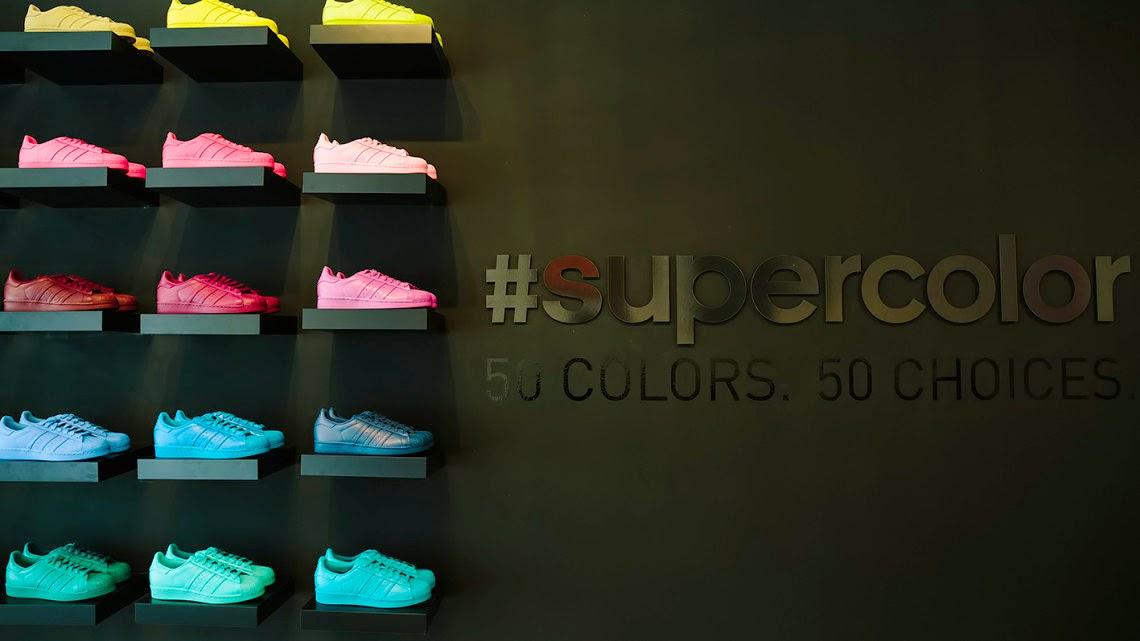 0a5481a0280 The Style Show  Adidas Originals Superstar Supercolor Pack X Pharrell
