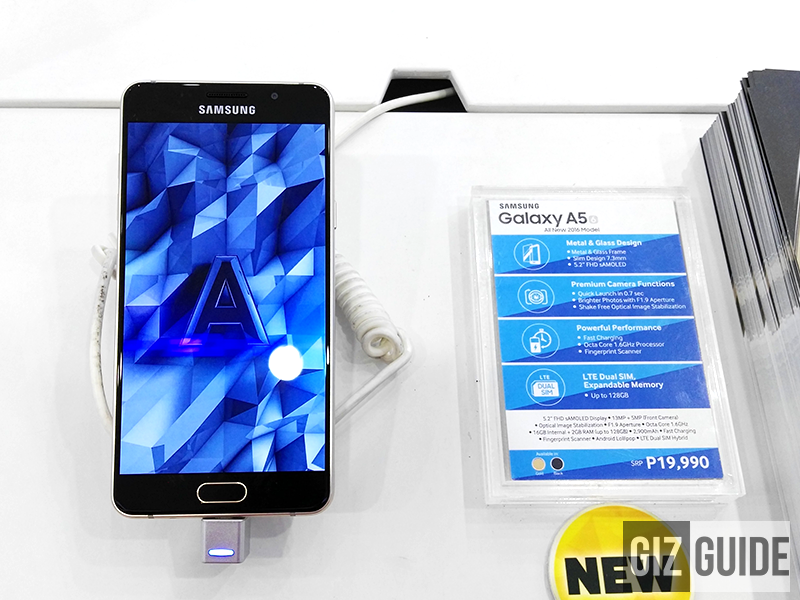 Samsung Galaxy A5 2016 spotted in the Philippines