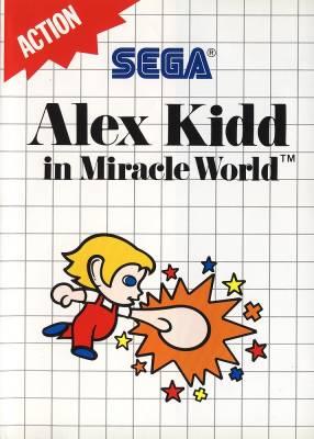 Jogue online Alex Kidd in Miracle World