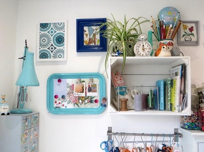 Home Office Memo Board Ideas