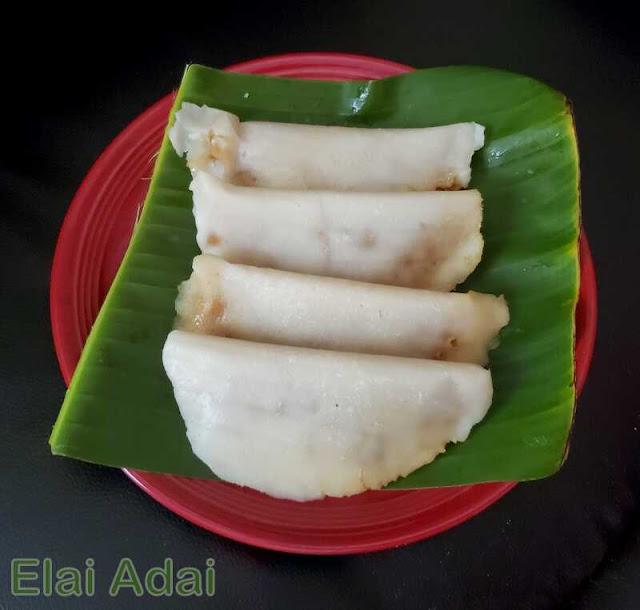 images of  kerala valsan / Ela Ada / Elai Adai / Elayappam / Vazhayila Ada / Ilai Adai - Kerala Sweet Recipe