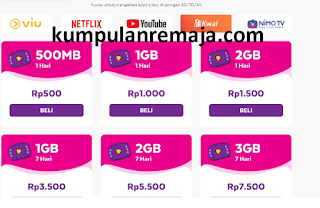 Paket boostr Video Axis