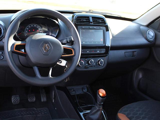 Renault Kwid Outsider 2020 - painel