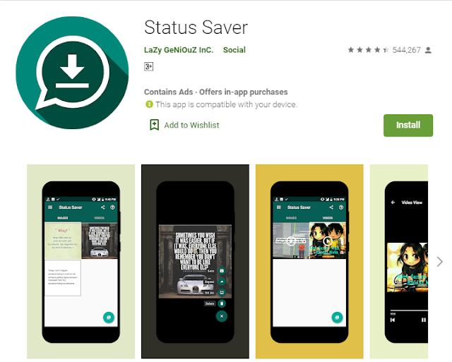 برنامج تنزيل حالات واتس اب علي الهاتف | Status Saver