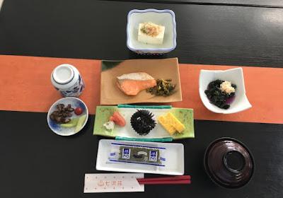 七沢荘の朝食