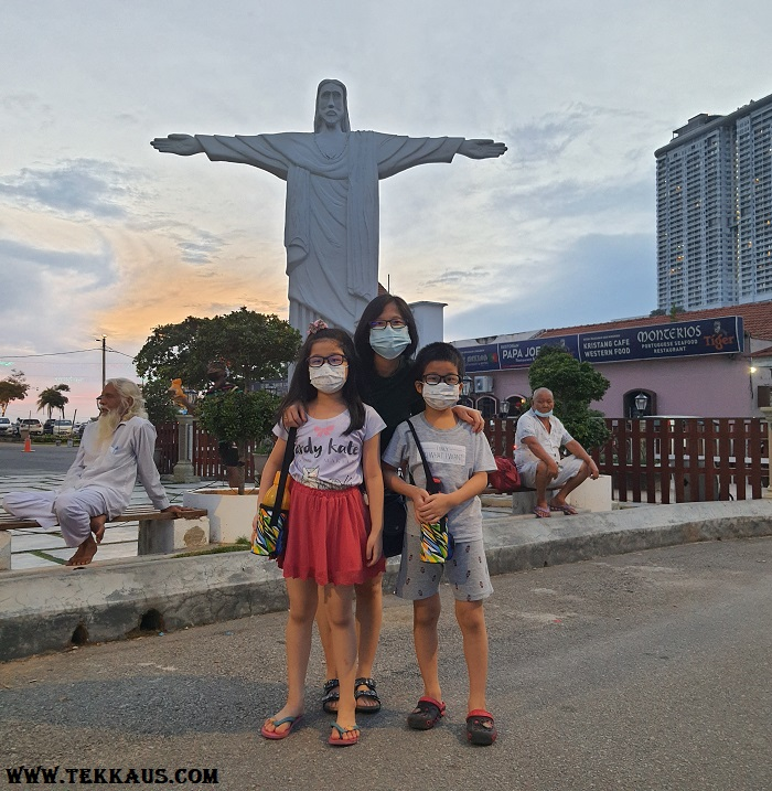 Christmas Eve At Portuguese Settlement Melaka