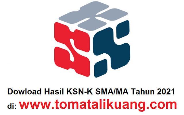 hasil ksn k sma ma tahun 2021 pdf tomatalikuang.com