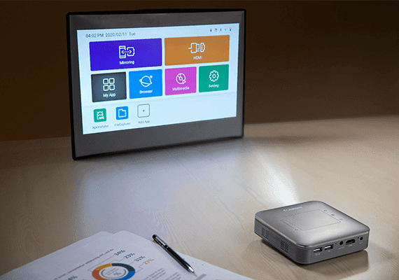Canon Mini Wireless Projector MP250 Presentations