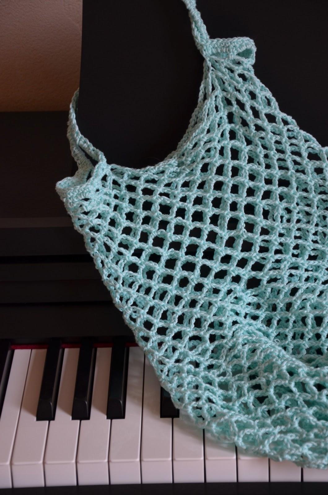 Sac Filet Au Crochet