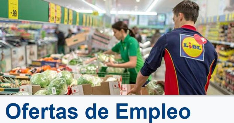 empleo supermercado lidl