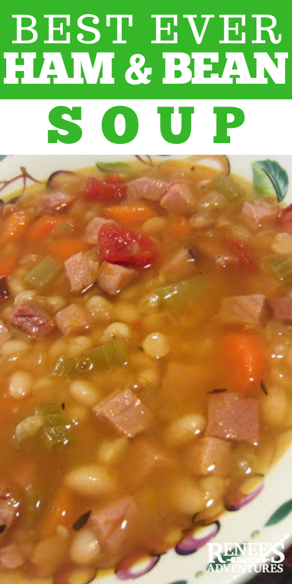 Ham and Bean Soup pin
