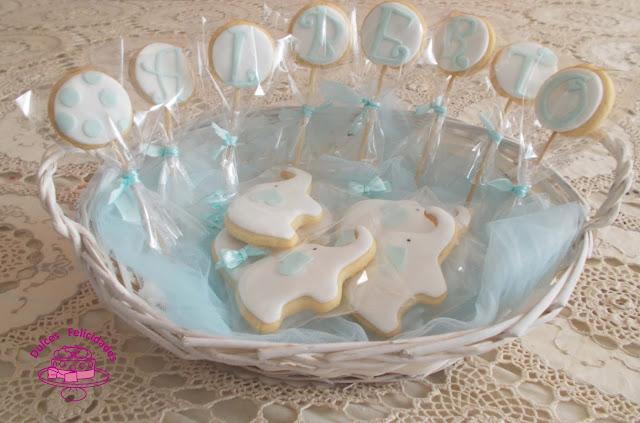 Cesta de galletas para bebé