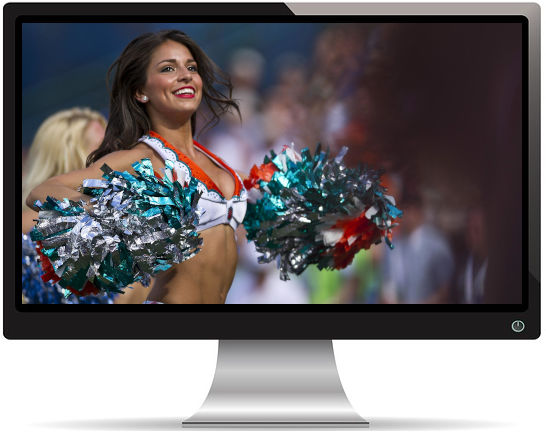 Pom-Pom Girls Football - Fond d'écran en Full HD 1080p
