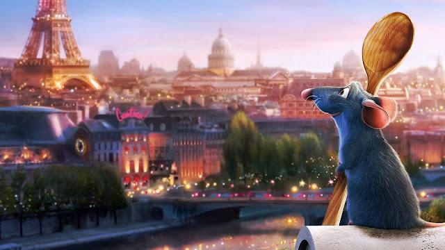 Fondo de pantalla de la película Ratatouille de Pixar Animation