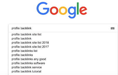 Profile Backlink Create Website list