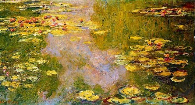 Flor de Lótus - Pinturas de Monet Claude | O Pai do Impressionismo