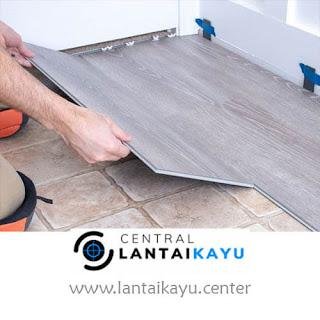 harga lantai kayu sintetis / tempel laminated
