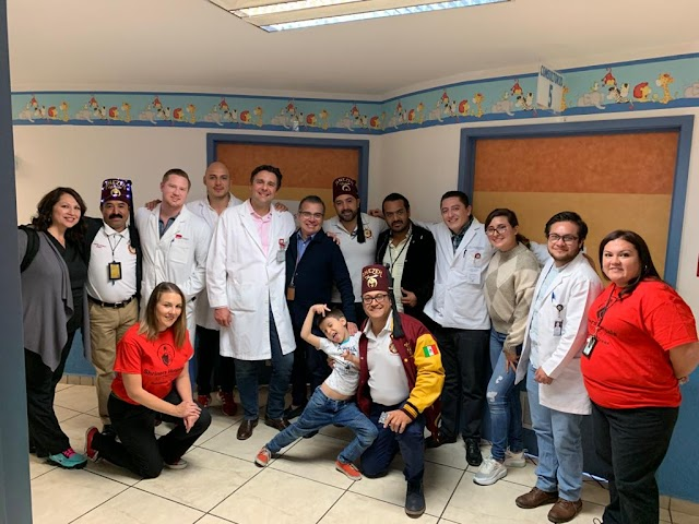 Concluye con éxito la edición 42 de la Clínica de Valoración a Niños con Secuelas de Quemaduras Graves conjunta Hospital Civil de Guadalajara -  Hospital Shriners de Galveston, Texas