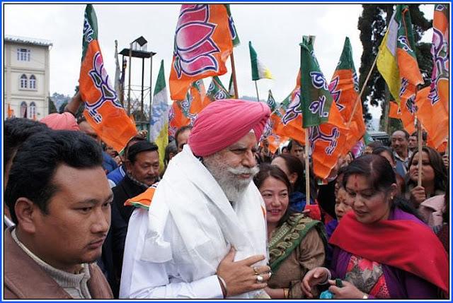 Darjeeling MP SS Ahluwalia