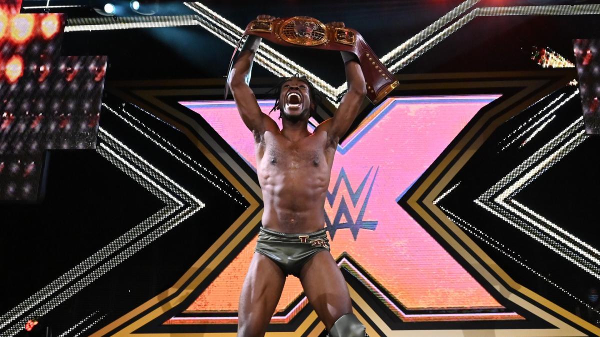 Leon Ruff wins the NXT North American Championship