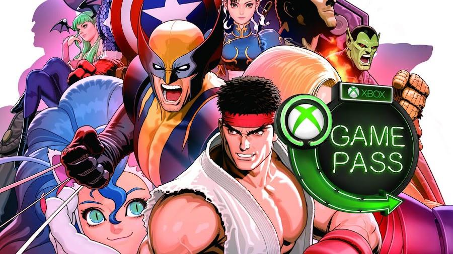 xbox game pass 2019 ultimate marvel vs capcom 3