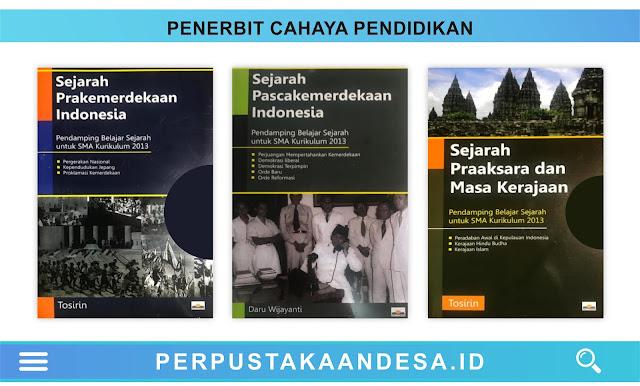 Daftar Judul Buku-Buku Penerbit Cahaya Pendidikan